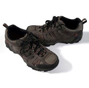 Columbia Mens Hiking Shoes Gray Black 7.5